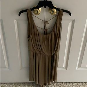 Free People Olive Green tank top dress